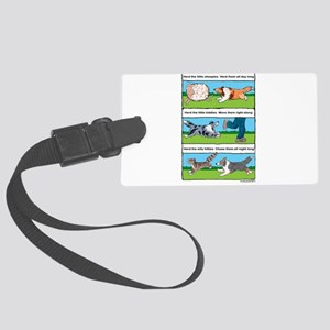 Herd Sheepies Luggage Tag