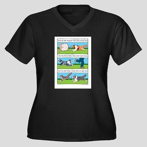 Herd Sheepies Plus Size T-Shirt