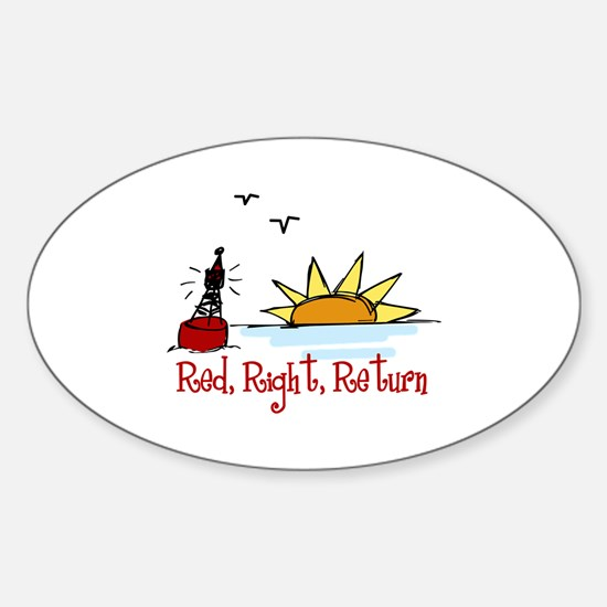 Red Right Decal