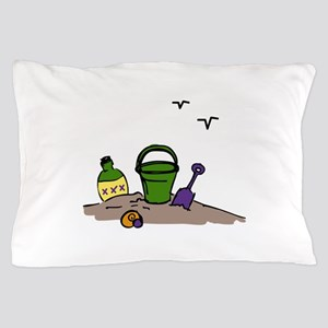 Sand Toys Pillow Case