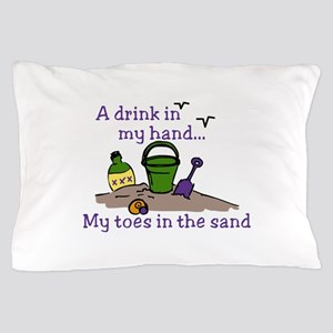 In The Sand Pillow Case