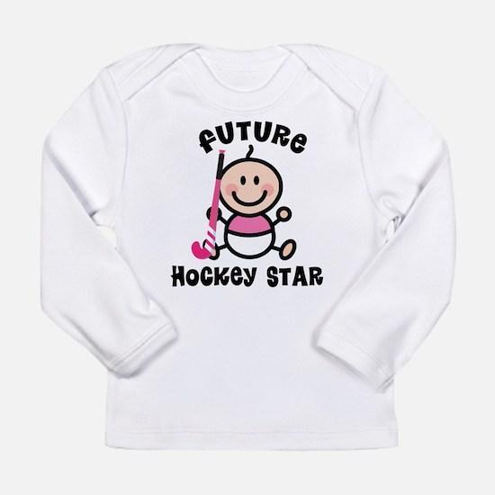 Future Field Hockey Star Long Sleeve T-Shirt