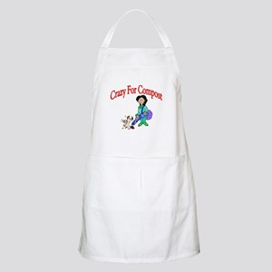 Crazy For Compost BBQ Apron