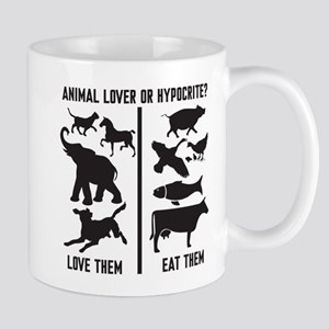 Animal Lover or Hypocrite? Mug
