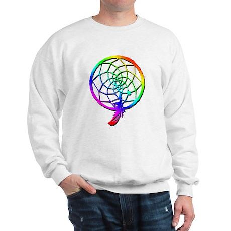 Rainbow Dreamcatcher Sweatshirt