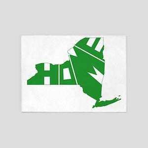 New York Home 5'x7'Area Rug