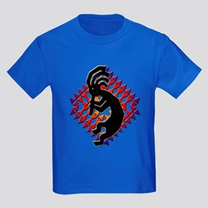 Southwest Kokopelli Kids Dark T-Shirt