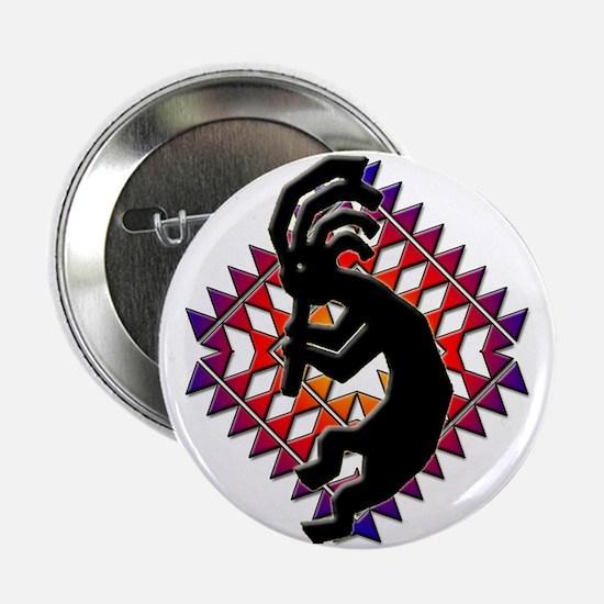 Southwest Kokopelli Button