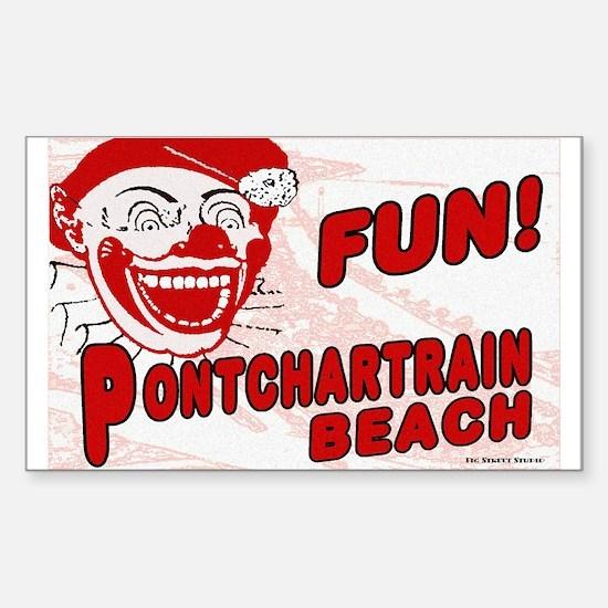 Pontchartrain Beach Rectangle Decal