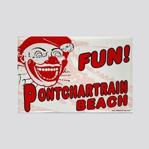 Pontchartrain Beach Rectangle Magnet