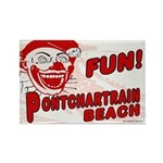 Pontchartrain Beach Rectangle Magnet