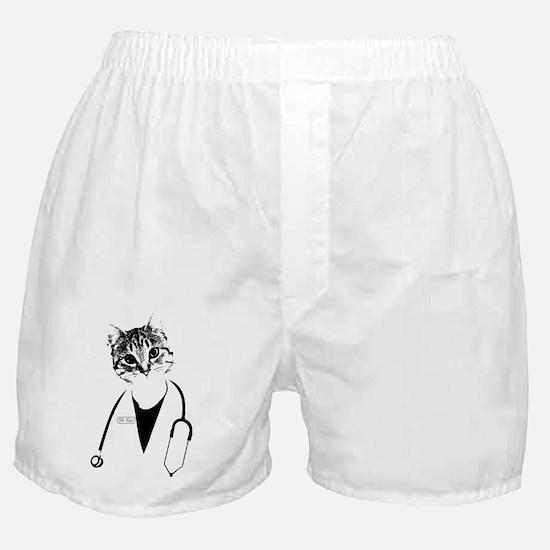 Dr. Cat Boxer Shorts