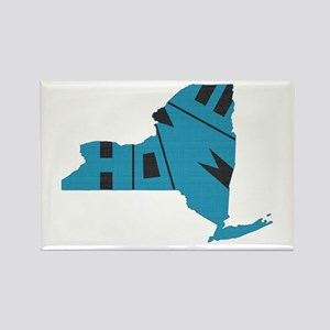 New York Home Rectangle Magnet