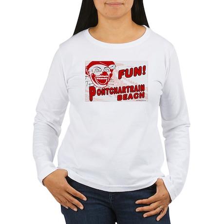 Pontchartrain Beach Women's Long Sleeve T-Shirt