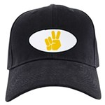 Peace It Out! Black Cap