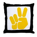 Peace It Out! Throw Pillow