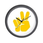 Peace It Out! Wall Clock