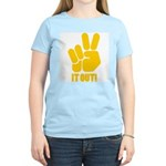 Peace It Out! Women's Light T-Shirt