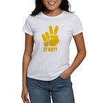 Peace It Out! Women's T-Shirt