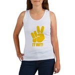 Peace It Out! Women's Tank Top