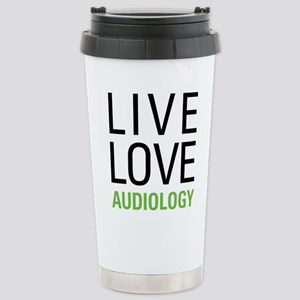Live Love Audiology Stainless Steel Travel Mug