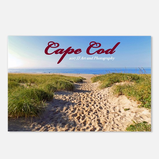 Cape Cod Beach Postcards (package Of 8)
