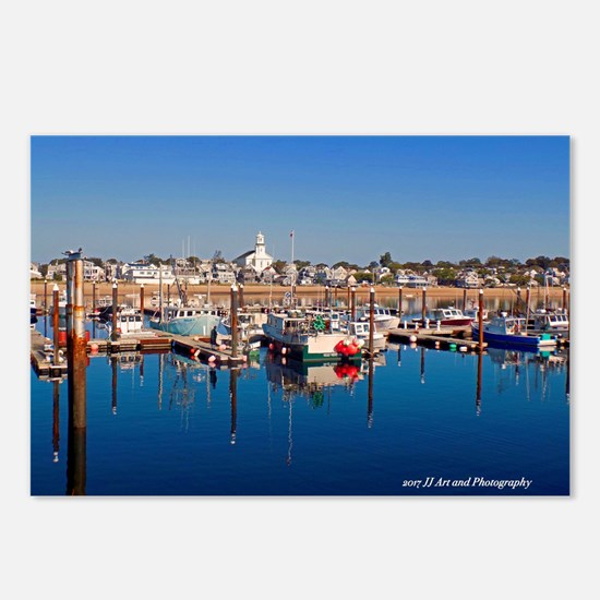 Provincetown Harbor Postcards (package Of 8)