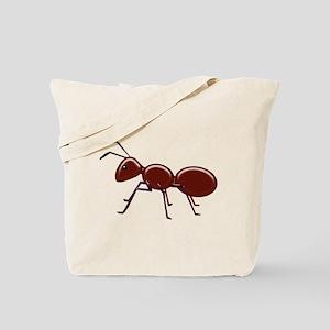 Shiny Brown Ant Tote Bag