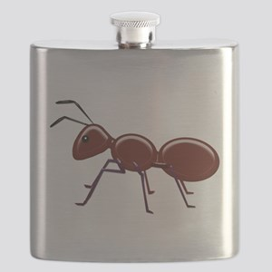 Shiny Brown Ant Flask