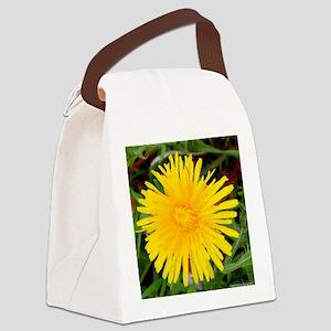 Sunflower Canvas Lunch Bag