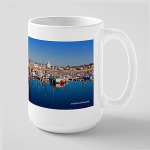 Provincetown Harbor 15 Oz Ceramic Large Mug Mugs