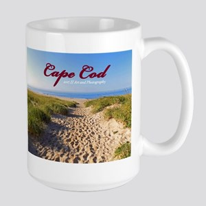 Cape Cod Beach 15 Oz Ceramic Large Mug Mugs