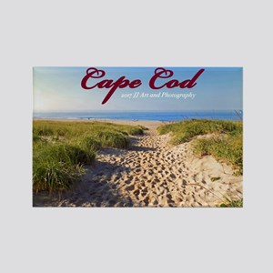 Cape Cod Beach Rectangle Magnet Magnets