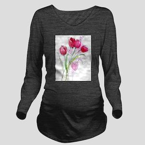 Tulip2a Long Sleeve Maternity T-Shirt
