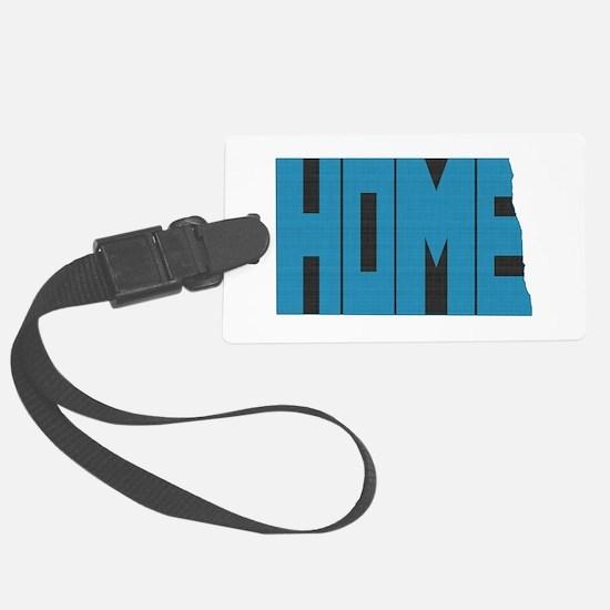 North Dakota Home Luggage Tag