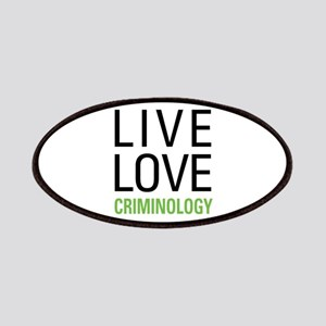 Criminology Patches