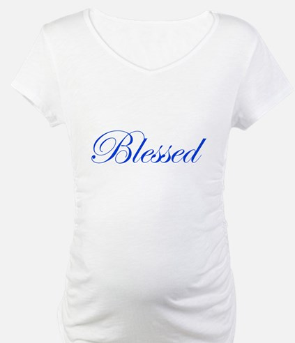 Blue Blessed Shirt
