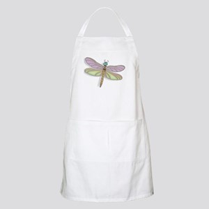 Lavender and Green Dragonfly Apron
