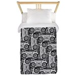 Boomboxes Twin Duvet