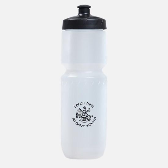 Bust Mine1.jpg Sports Bottle