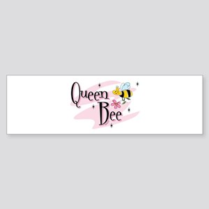 Queen Bee (bumper) Bumper Sticker