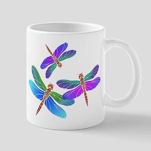 Dive Bombing Dragonflies Mugs