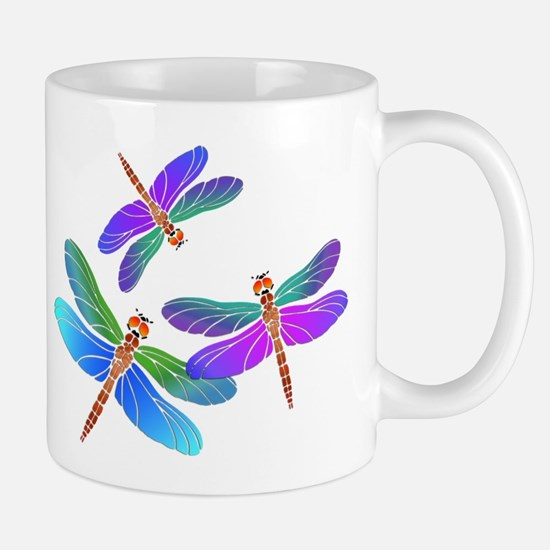 Dive Bombing Dragonflies Mugs