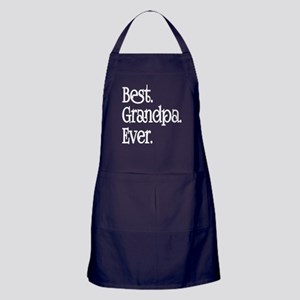 Best Grandpa Ever Apron (dark)