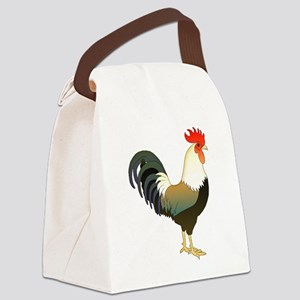 Rocking Rooster Canvas Lunch Bag
