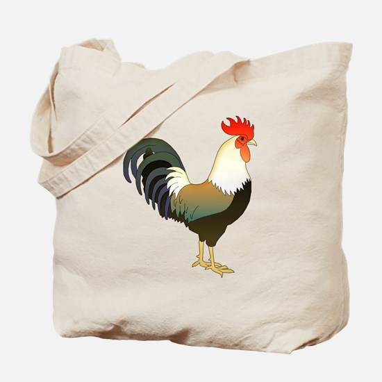 Rocking Rooster Tote Bag