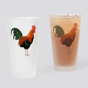 King of the Roost Drinking Glass