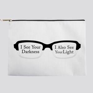 I See Your Darkness Makeup Pouch