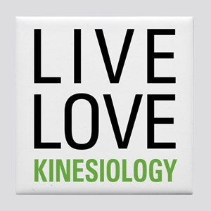 Live Love Kinesiology Tile Coaster