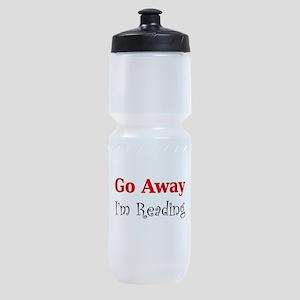 GoAway_WHT Sports Bottle